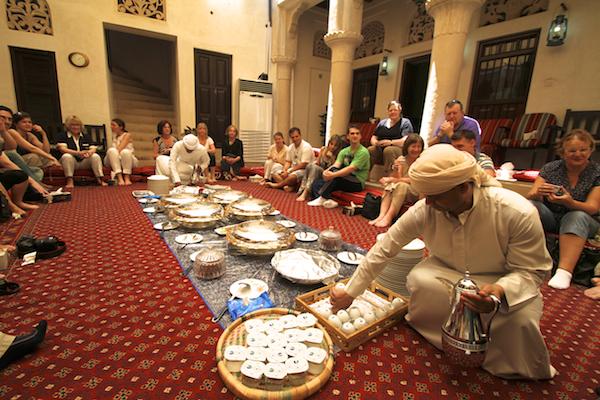Comidinhas árabes Sheikh Mohammed Centre for Cultural Understanding