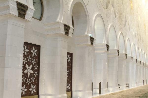 Abu Dhabi nos Emirados Árabes Unidos