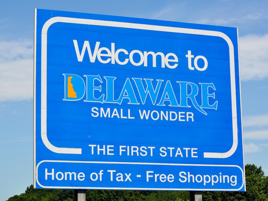 Compras sem imposto em Delaware