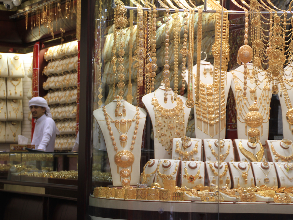 Mercado Ouro de Dubai