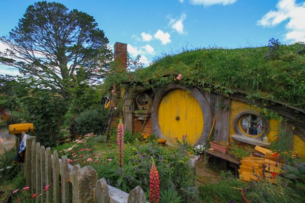 Hobbiton - O vilarejo dos hobbits na Nova Zelândia