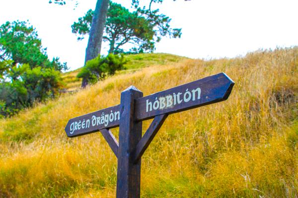 Hobbiton - Uma das atrações turisticas mais populares da Nova Zelândia