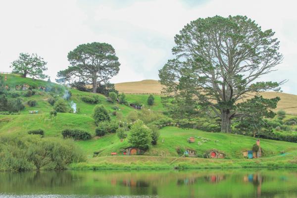 Shire do filme O Senhor dos Anéis na Nova Zelandia