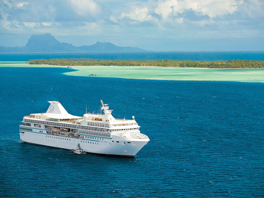 Cruzeiro na Polinésia