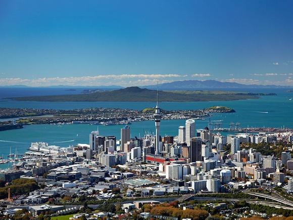 Vista Aérea de Auckland