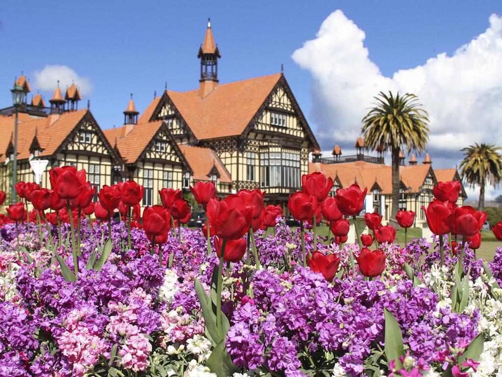 Government Gardens em Rotorua