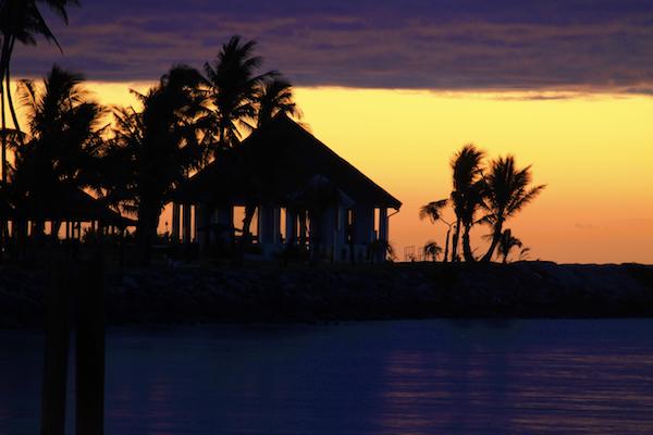 Fim de tarde em Fiji