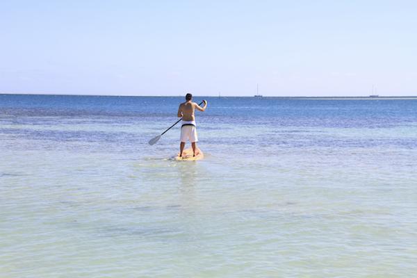 SUP em Fiji