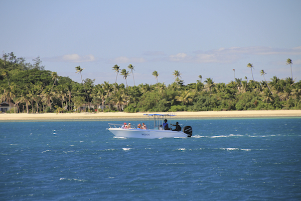 Barco em Fiji
