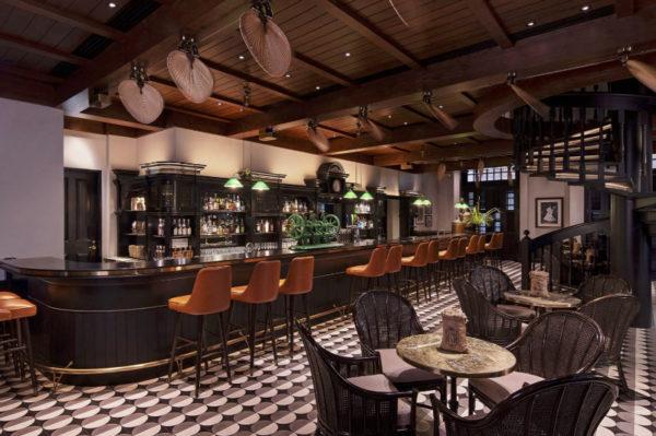 Singapore Sling no Raffles Hotel em Singapura