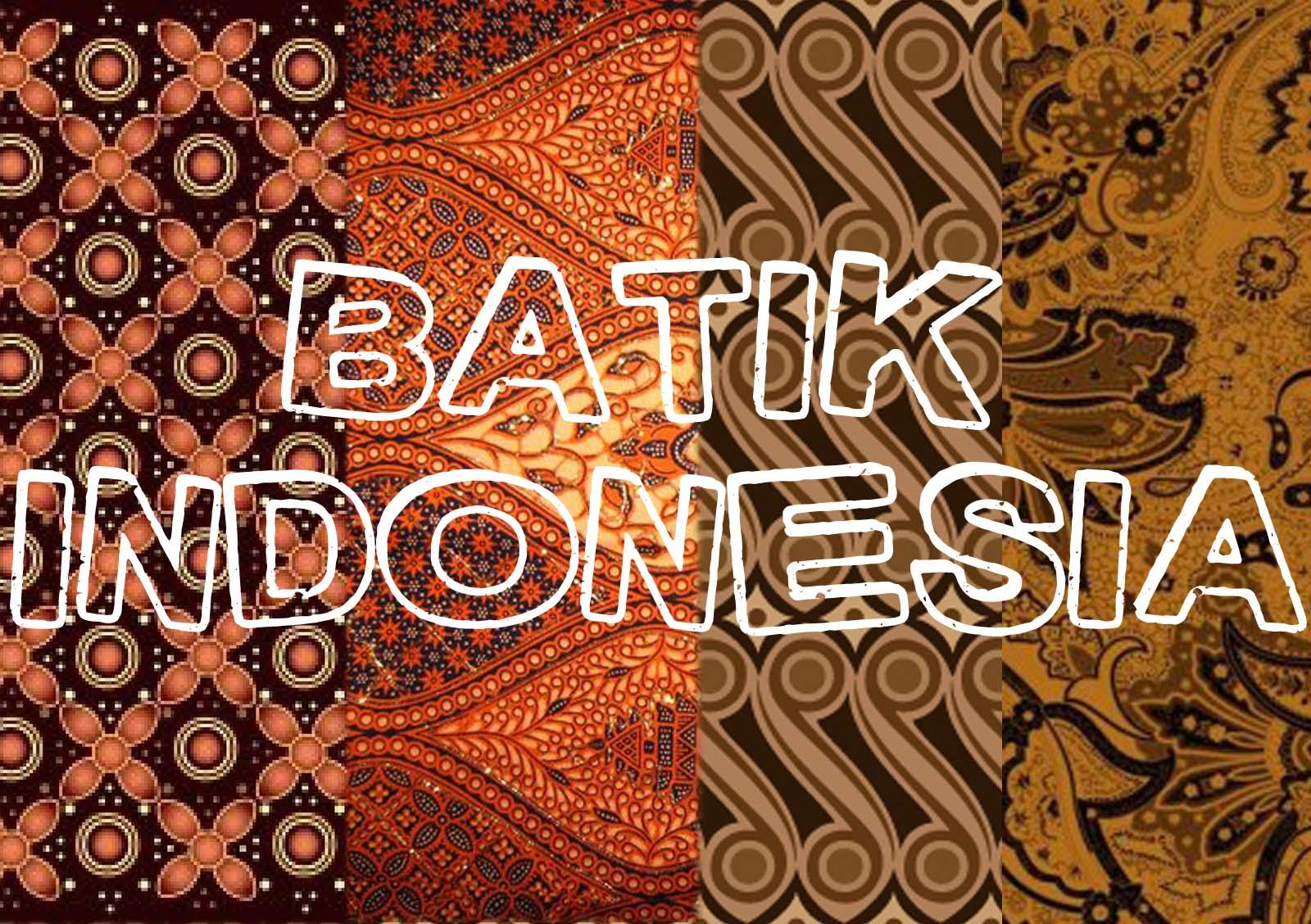 Batik na Indonesia
