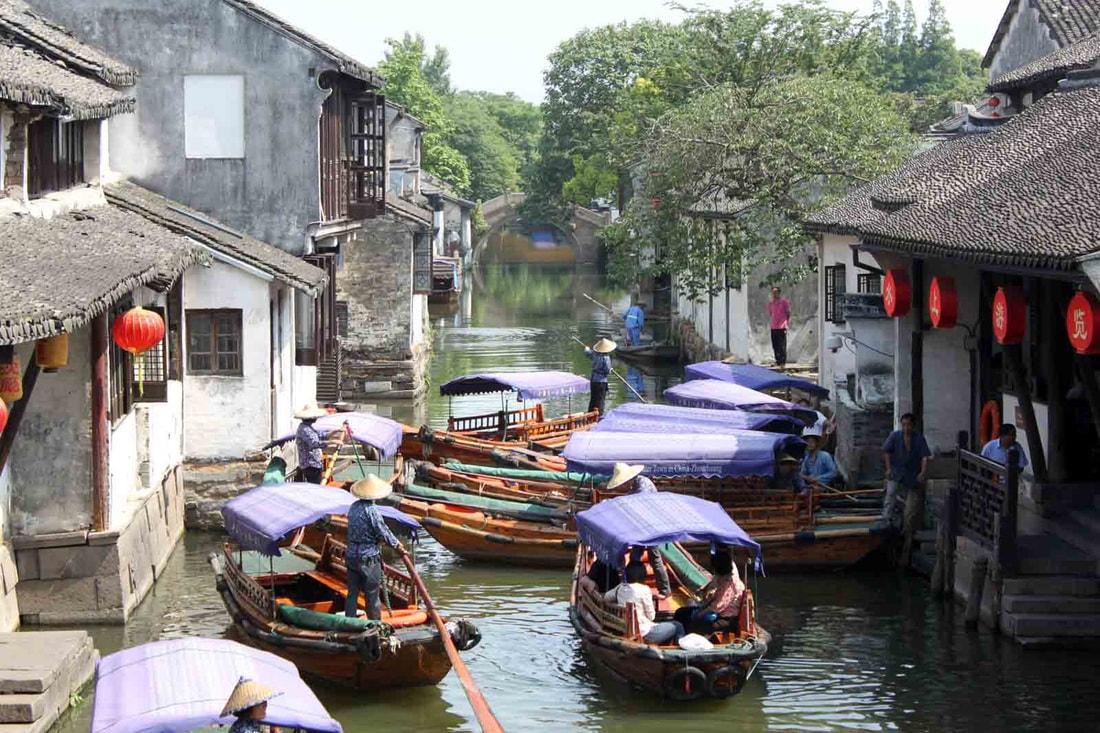 Zhouzhuang - Veneza da China