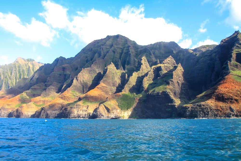 A incrível Na Pali Coast em Kauai